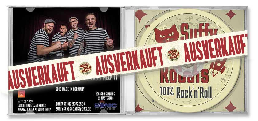 Suffy Sand Rocats CD ausverkauft